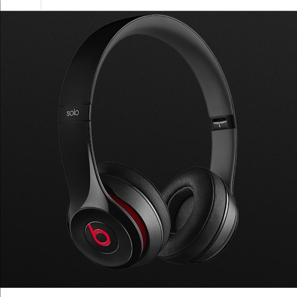 Beats Solo 2 Wired Headphones - Black